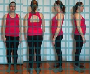 Haltungsanalyse Fitness
