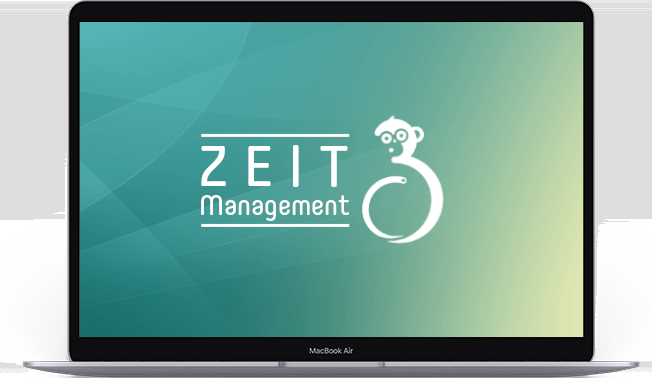 Laptop-Zeitmanagement